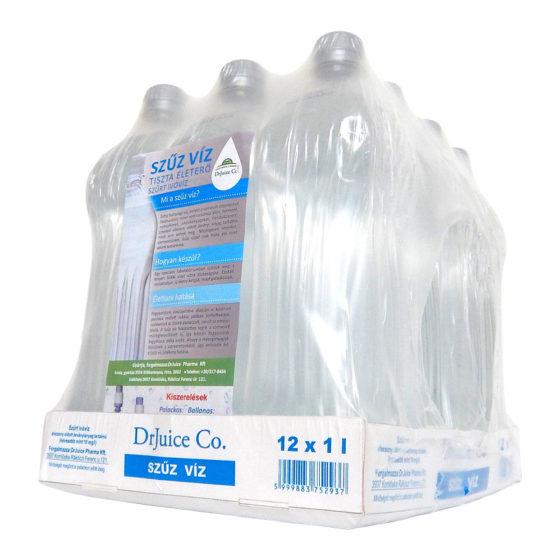DrJuice Szűz Víz – 12×1 liter